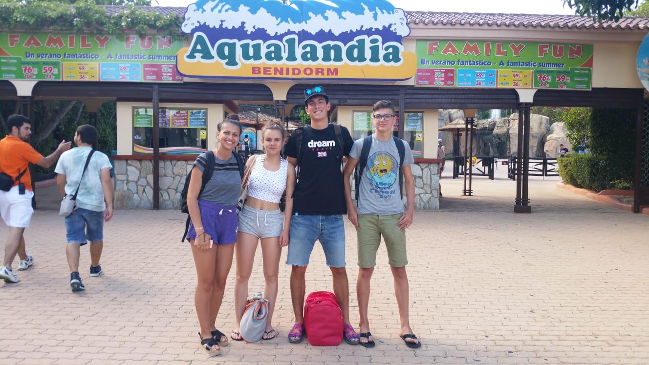 Austauschschüler im Auslandsjahr in Spanien