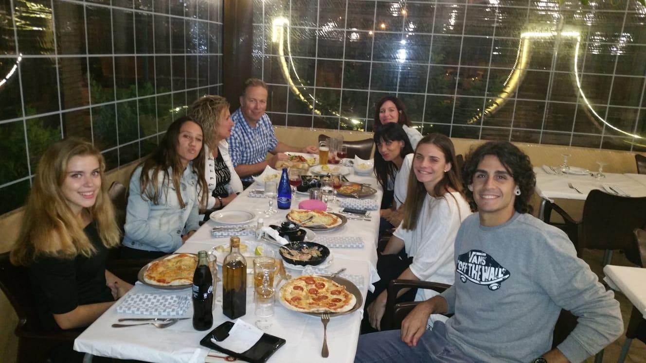 Austauschschüler beim Auslandsjahr in Spanien