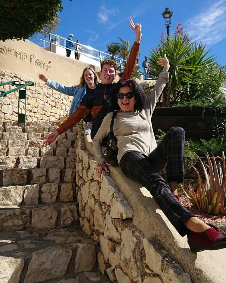 Ausflug Alicante Gastfamilie mit Austauschschüler