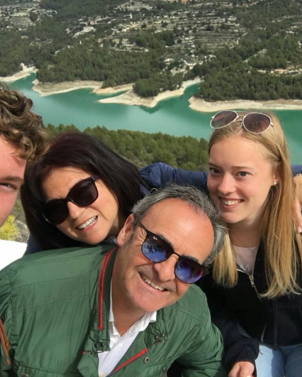 Ausflug Gastfamilie mit Austauschschüler