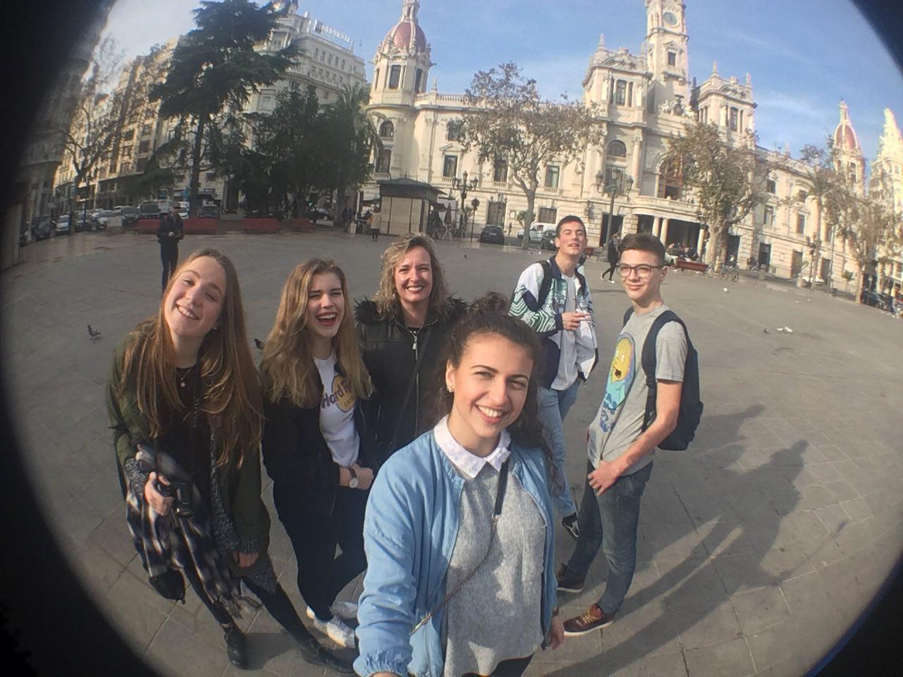 Ausflug mit Austauschschülern