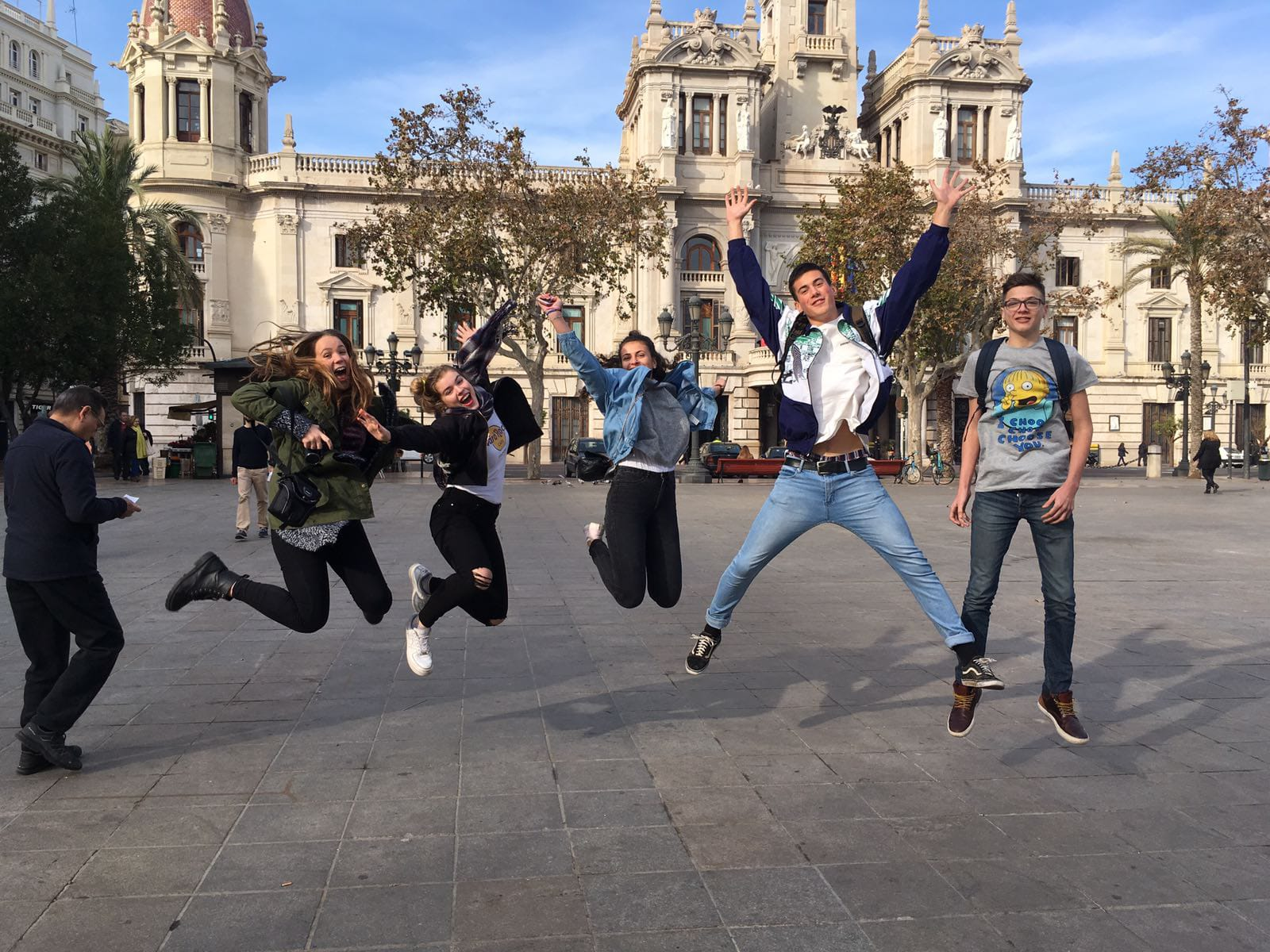 Austauschschüler in Alicante