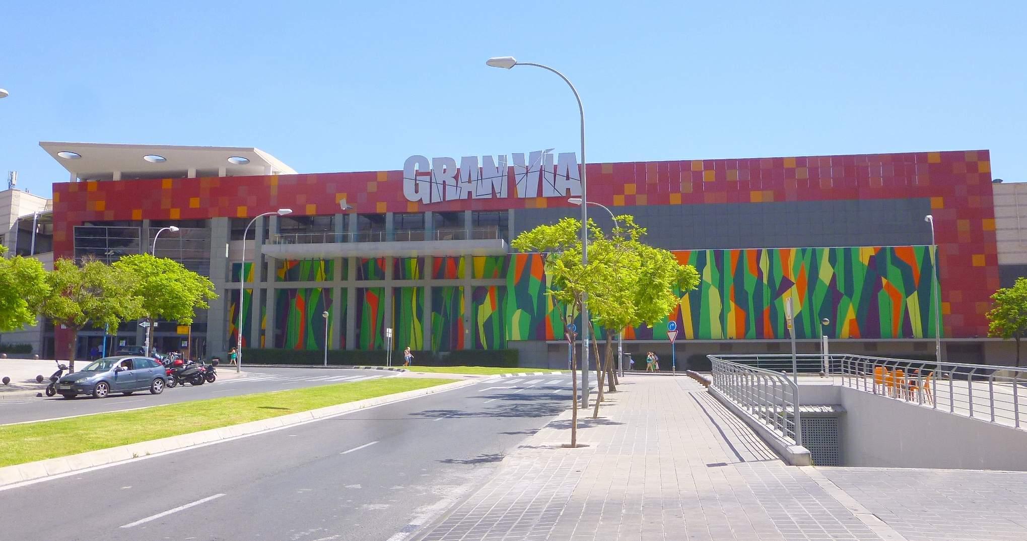 Einkaufszentrum in Alicante