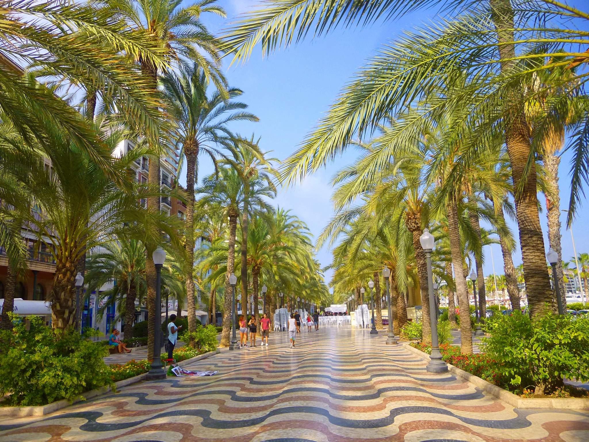 Explanada von Alicante