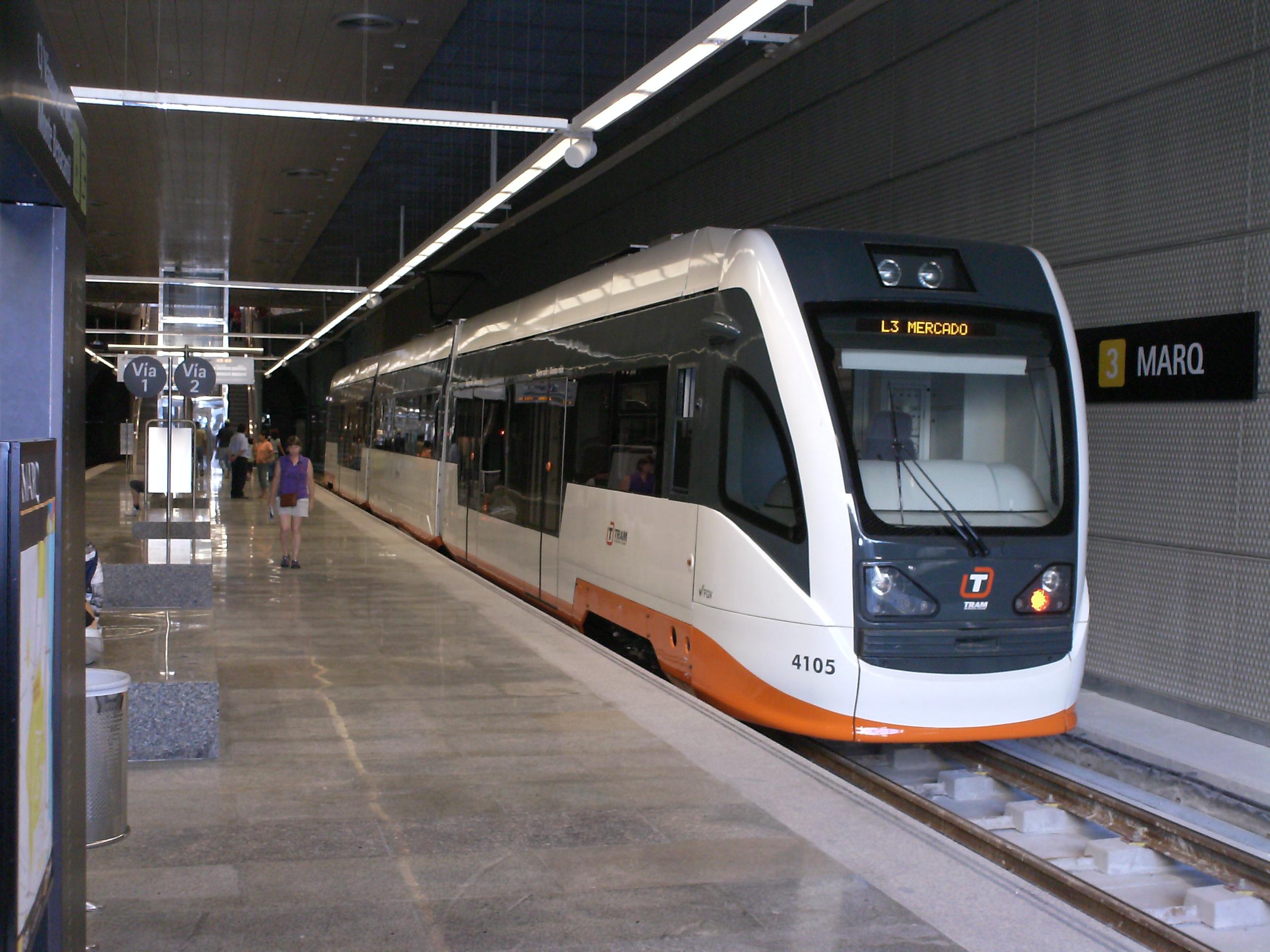 Straßenbahn Alicante